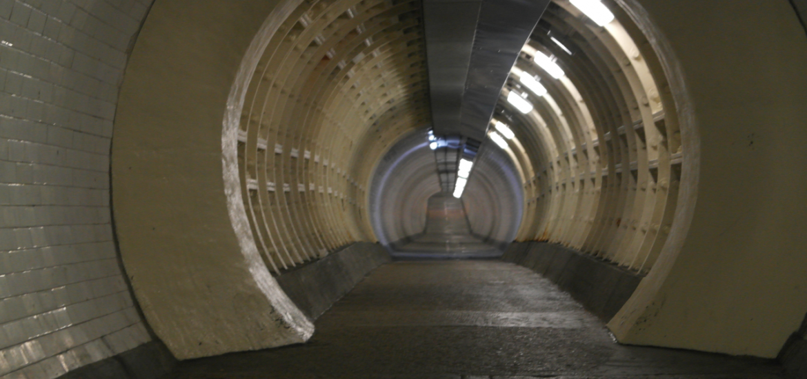 Foot Tunnel Panorama