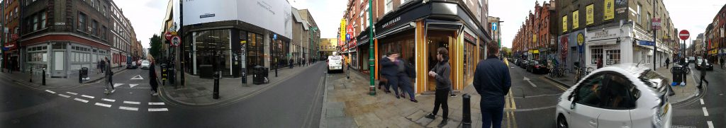 Brick Lane Panorama
