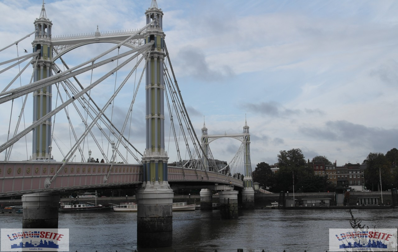 Albert Bridge Panorama