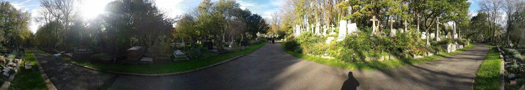 Highgate Cemetery Panorama