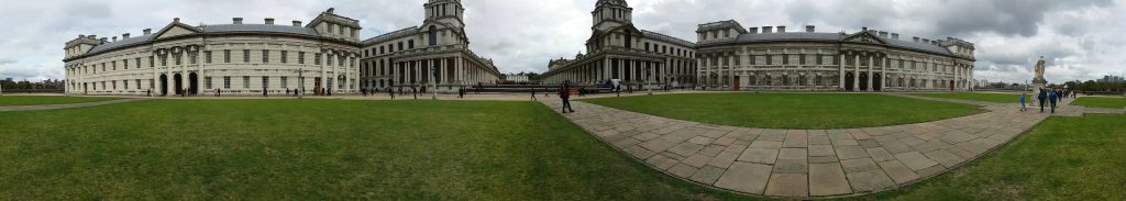 Royal Naval College Panorama