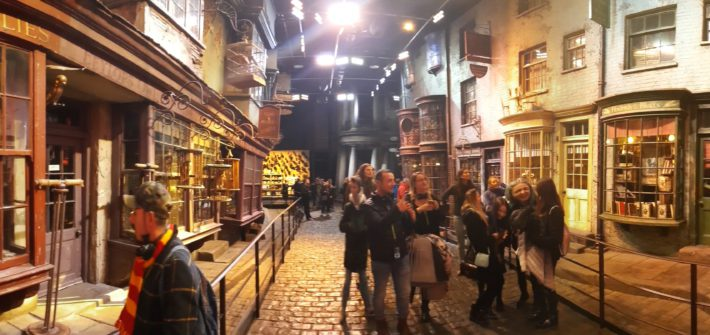 Harry Potter Studio Tour London Panorama