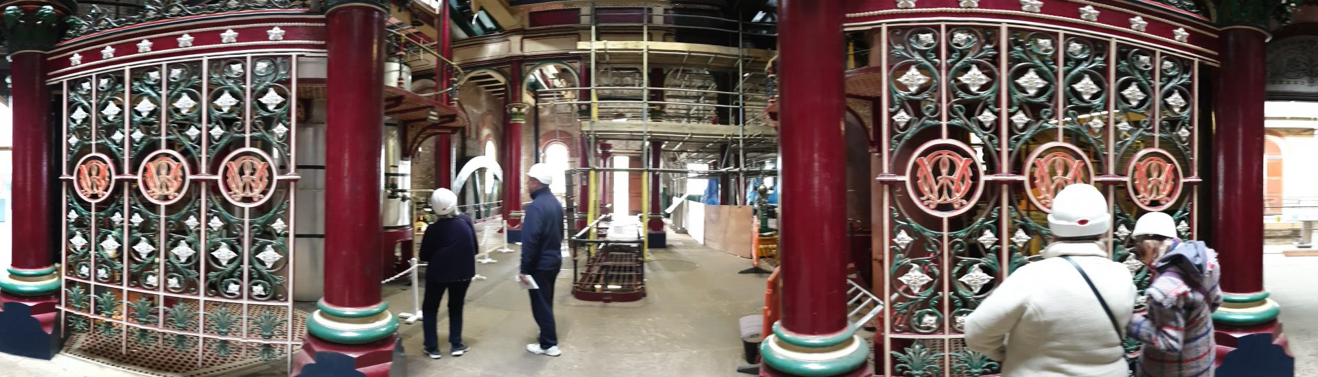 Crossness Pumping Station Panorama